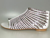 MISS SIXTY High-heeled Sandals PRISCILLA Sandals Q00921 White + new + all sizes