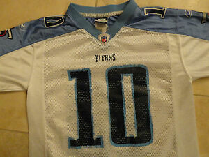 TENNESSEE TITANS #10 VINCE YOUNG NFL JERSEY YOUTH M NICE  EXCELLENT FREE US SHIP