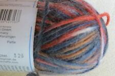 "1 Sk. SMC ""WASH+FILZ-IT""  Multi Color Fine Felting Wool #1084 Brazil"