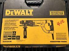 Dewalt D25263k 1 18 In Sds Plus Rotary Concretemasonry Hammer Kit