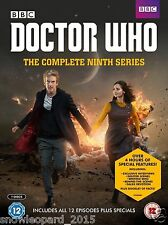 DOCTOR DR WHO COMPLETE SEASON 9 DVD Box Set Series All Episodes New Sealed UK R2