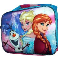 Disney Frozen Elsa & Anna Insulated Lunch Lunch Box Messenger Bag Tote SALE