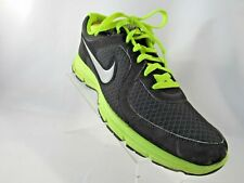 Nike Relentless 443844-008 Size 12 M Black Yellow Running Sneakers Mens Shoes