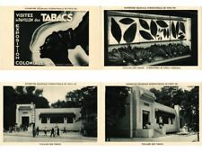 EXPOSITION COLONIALE PARIS FRANCE 1931 TABACS TOBACCO 20 CPA