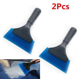 2Pcs Car Window Tint Vinyl Clean Water Wiper Snow Ice Scraper Car Film Wrap Tool