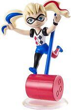 DC Super Hero Girls Harley Quinn Mini Vinyl Figure  *BRAND NEW*