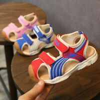 Toddler Infant Baby Boys Closed Toe Beach Kids Shoes Sandals Sneakers Sport Shoe