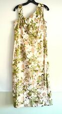 Vintage 1950s Ecstasy Creations long Beaded dress approx 12/14