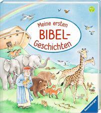 Meine ersten Bibel Geschichten Ab 2 Jahre Geschenk zur Taufe Hardcover + BONUS
