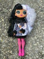 LOL Surprise OMG WINTER DISCO DOLLIE Doll black white hair