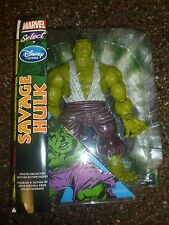 "Savage Hulk Disney Store Marvel Select 10"" Inch Deluxe Figure BNIB"