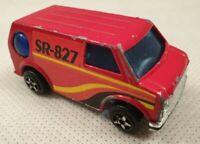 Vintage Red Ummer Van Scale Model 1/60 Red Van SR-827 1970s 1980s