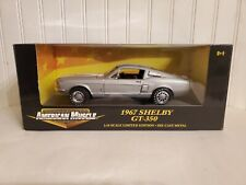 Ertl American Muscle 1967 Shelby Cobra GT-350 1:18 Scale Diecast Car LE 36421A