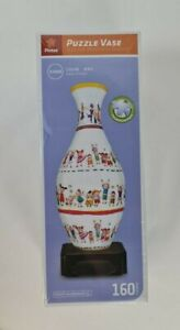 New - Pintoo Happy Children Puzzle Vase 3D Jigsaw 160 Pieces Worthy of Display