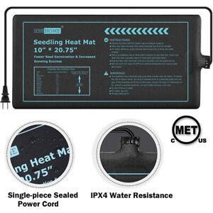 "10x20"" Seedling Heat Mat Seed Germination Propagation Clone Starter METCertified"