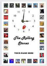 The Rolling Stones  Album Wall clock  Great gift Personalised Free