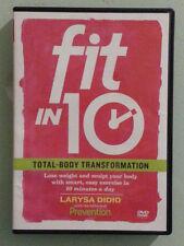 larysa didio  FIT IN 10 TOTAL BODY TRANSFORMATION    DVD