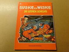 STRIP / SUSKE EN WISKE 76: DE IJZEREN SCHELVIS   Herdruk 1979