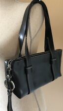Nannini Small Black Purse Leather Handbag Italian Designer