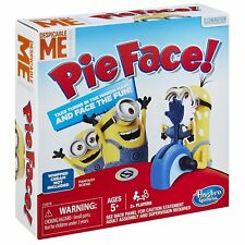 Despicable Me Minions Pie Face Game From Hasbro Age 5