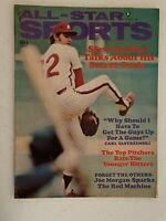 All-Star Sports Magazine August 1973 - Steve Carlton on Cover