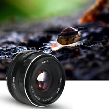 Meike 35mm F1.7 Aperture Manual Prime Lens APS-C Accessory for Sony SLR E Mount