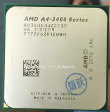 AMD A4-Series A4-3400 2.7 GHz 1M CPU Processor AD3400OJZ22GX Socket AM3