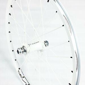 """BMX Race Wheel EXCESS Expert Front 20mm Wheel 20""""x1.3/8"""" 28H (White)"""