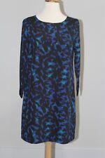 NWT J CREW FACTORY Printed Three Quarter Sleeve Gallery Dress Sz 8P B7663 Shift