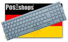 Original QWERTZ Tastatur Acer KB.I170A.183 Series DE silber NEU