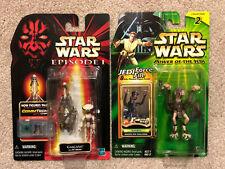 Set Of 2 Pod Racers - Episode 1 Gasgano, Power Of The Jedi Sebulba
