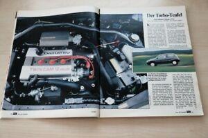 AMS 13341) Daihatsu Charade GTti mit 101PS im Test auf 5 Seiten