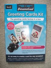 SERIF PERSONALISED GREETING CARDS KIT WITH AWARD WINNING DESIGN SOFTWARE