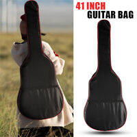 Acoustic Classical Guitar Bag Back Shoulder Hand Carry Soft Case Full Size