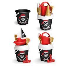 Kids Disney Plastic Pirates Beach Bucket And Spade Play Toy Set Sandbox Summer