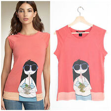 Marc by Marc Jacobs Miss Marc Vacation Graphic Girl Tee Pineapple Sunglasses M