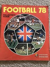 Panini 1978 78 Football Sticker Album. A Handful Of Stickers.