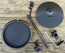 """NEW Alesis Nitro Mesh Upgrade 10"""" Cymbal, 8"""" Pad w/ Mounting H/W for 1 1/8"""" Rack"""