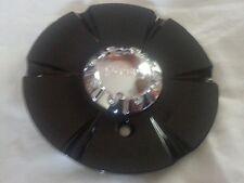 """Incubus Black Wheel #S507-12 Center Cap NEW Rim Middle 6"""" diameter"""
