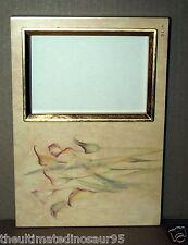 "Lovely Photo Frame (BLUM) Chic Mustard & Gold Photo Size 5"" x 3 & 1/2"" (125x 95)"
