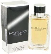Silver Shadow by Davidoff Men Eau De Toilette Spray 1.7 oz 50 ml ORIGINAL