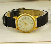 STOLICHNIE Kirovskie original 1st Class gold plated USSR wristwatch caliber 2409