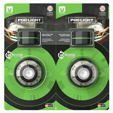 NEW Mychanic Pod Light LED 2Pk Magnetic Task Portable Work 360° 250 Lumens!