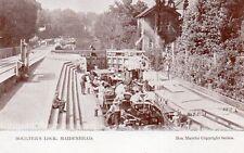 Boulter's Lock - MAIDENHEAD - Berkshire - Unused Original Postcard (RTH)