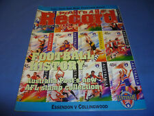 1996 AFL Football Footy Record Round 5 Collingwood Def Essendon Anzac Day N MINT