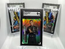 More details for lewis hamilton 2020 topps chrome f1 refractor #1 sgc 9 track-tags sgc 10 (x2)