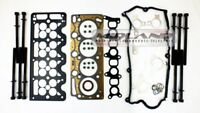 HEAD GASKET SET AND HEAD BOLTS FOR VAUXHALL ASTRA ZAFIRA 1.7 CDTi A17 DTJ ENGINE