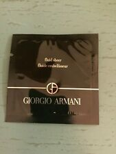 Giorgio Armani Fluid Sheer Fundation in Shade 2- One Sample Packet