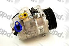 New A/C Compressor fits 2007-2009 BMW 335i 135i  GLOBAL PARTS