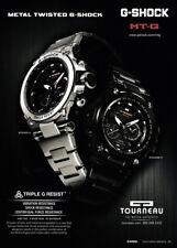 Tourneau G-Shock watch print ad 2014